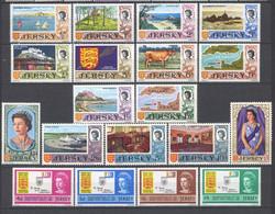 Jersey 1969 Annata Completa / Complete Year Set  **/MNH VF - Jersey