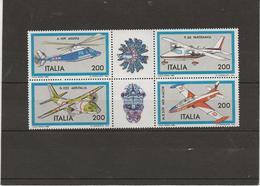 ITALIE - N° 1484 A 1487 NEUF XX BLOC DE 4 - ANNEE 1981 - - 1981-90:  Nuovi