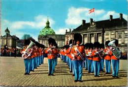Denmark Copenhagen The Royal Guard At Amalienborg Castle - Denmark