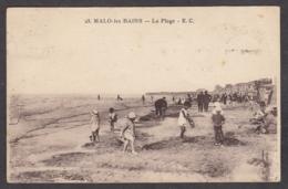 101652/ MALO-LES-BAINS, La Plage - Malo Les Bains