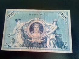 GERMANY ALLEMAGNE DEUTSCHLAN 100 Mark 1908 - [ 2] 1871-1918 : Empire Allemand