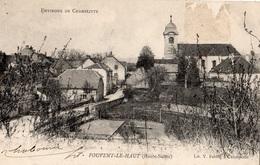 ENVIRONS DE CHAMPLITTE FOUVENT-LE-HAUT (CARTE PRECURSEUR) - France