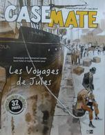 Casemate, 32 Pages, Supplément Spécial Mai 2019 : Les Voyages De Jules. Emmanuel Lepage, René Follet, Sophie Michel. DM - Magazines