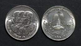 Thailand Coin 10 Baht 1989 72nd Chulalongkorn University Y228 - Thaïlande