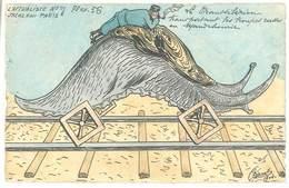 ORENS-L'Actualiste N° 7 (1904) Le Ttranssibérien (Guerre Russo Japonaise) Tir. Limité 56/75 Exemplaires(729 ASO)) - Orens