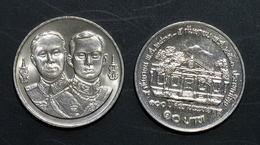 Thailand Coin 10 Baht 1990 100th First  Medical College Y231 - Thailand