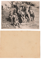 1936 Original 12x8 Old Photo Photography Teenager Girl Half Naked NU Pin Up Child Pants Beach Russia USSR (6465) - Pin-Ups