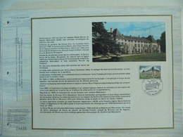 Feuillet CEF En Esperanto Tirage 500 Ex - N° 342 Chateau De Rueil Malmaison - Napoléon