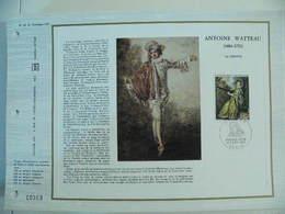 Feuillet CEF En Esperanto Tirage 500 Ex - N° 246 Watteau - Arte