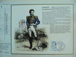 Feuillet CEF En Esperanto Tirage 500 Ex - N° 366 Général Daumesnil - Napoléon