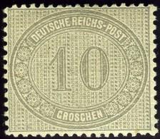 Germany. Sc #12. Mint. OG. - Ungebraucht
