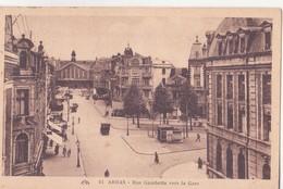 CPA - 92. ARRAS - Rue Gambetta Vers La Gare - Arras