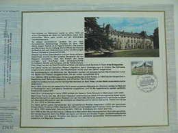 Feuillet CEF En Allemand Tirage 700ex. - N° 342 Chateau De Malmaison - Napoléon