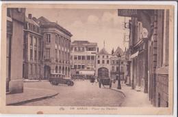 CPA - 100. ARRAS - Place Du Théâtre - Arras