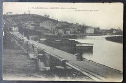 CPA 58 SAINT LEGER DES VIGNES - RARE Vue - Quai Du Canal - Edit Normand Blondeau - Voir état - Réf. Z 197 - Decize