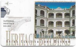 Singapore - Asian Civil. Museum, Heritage Buildings, 147SIGA, 1998, Used - Singapore