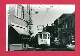 Photo  Dour =  1966  TRAM  Départ  Du Ligne 2 Barré  Boussu-Bois Vedette - Photos