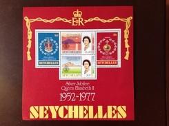 Seychelles 1977 Silver Jubilee Minisheet MNH - Seychelles (1976-...)