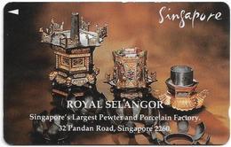 Singapore - Royal Selangor, Private, 1SRSA, Used - Singapore