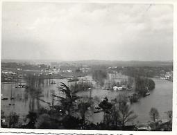 16 ANGOULEME - PHOTO ORIGINALE 1934 PORT L'HOUMEAU UN JOUR DE CRUE - Other Municipalities