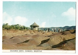 Coloured Earth, Chamarel - Mauritius - Circulé, Timbre, Mascarene Bul-bul, Merle - Mauritius