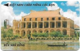 Vietnam - Uniphonekad - Ben Nha Rong - 58MVBA - 99.900ex, Used - Vietnam