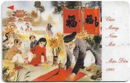 Vietnam - Uniphonekad - Chinese New Year 1998 - 12UPVA - 25.227ex, Used - Vietnam