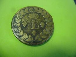 FRANCE - 1 DECIME (10 Centimes) LOUIS 18 De 1815 BB En Bronze De Canon - D. 10 Centimes