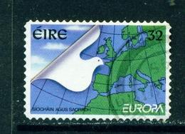 IRELAND  -  1995 Europa  32p Self Adhesive Used As Scan - 1949-... Republic Of Ireland