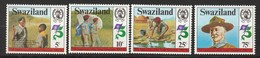 SWAZILAND - N° 412/5 ** (1982) Scoutisme - Swaziland (1968-...)