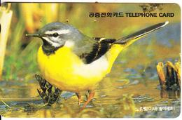SOUTH KOREA - Bird(reverse Letter J, W3000), Used - Korea (Zuid)