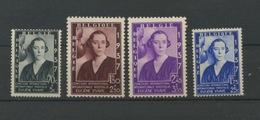 Reine Elisabeth  456/457.B. **sans Charnière  Cote 19,50-E - Bélgica