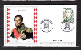 """"""" ANDRE MASSENA / NICE """" Sur Enveloppe 1er Jour De MONACO De 2008. N° YT 2617. FDC - FDC"""