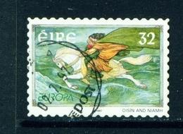 IRELAND  -  1997 Europa  32p Self Adhesive Used As Scan - 1949-... Republic Of Ireland