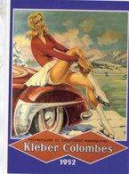 Kleber-Colombes (Pneumatiques)  -  Publicite  -  Artiste: Geo Ham   - Carte Postale - Voitures De Tourisme