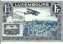 26-28.04 2019  -  AEROBERLIN 2019 - Biplan Breguet Au-dessus De La Ville De Luxembourg, - Cartes Maximum