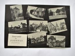 Souvenir De PIONSAT Puy De Dome - Multivues - Michel Photo Edit. St. Gervais D'Auvergne - TBE - France