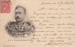 CPA Précurseur Luxembourg - S. K. H. Erbgrossherzog Wilhelm - Grossherzogliche Familie
