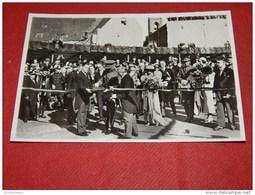 ANTWERPEN 1933 -  Inhuldigning Van Den Tunnel Door Z.M. Koning Albert I - Inauguration Du Tunnel Par Albert I - Koninklijke Families