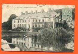ET/201 MANCHE  Environ De Cherbourg Chateau De Querqueville  // écrite Timbre  De La  Poste - France