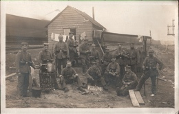 ! 1. Weltkrieg, Guerre 1914, Brüssel, Bruxelles, Hamburger Jungs, Posten No 4., Eisenbahnbrücke, Chemin De Fer, Photos - Bélgica