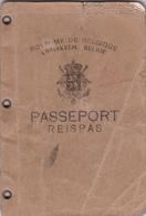 Ancien Passeport - Old Paper