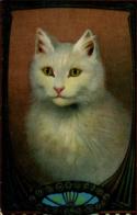 CATS -  ART DRAWN By DAVIDSON BROS C499 - Chats
