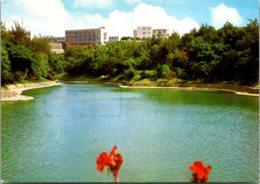 Japan Okinawa Ryukyu University From Ryutanike Pond 1985 - Japan
