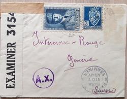 Algier Switzerland Censored Zensur - Algerien (1962-...)