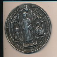 Presse Papier ?  REPRODUCTION De Médaille à Identifier 310 Grammes Connaissance Du Berry 1971 1991 20ème Anniversaire - France
