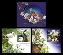 Ukraine 2019 Mih. 1799/800 Europa. National Birds. Fauna. White Storks And Thrush Nightingale (booklet) MNH ** - Oekraïne