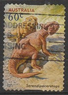 Australia 2013 Prehistorical Animals - Australia's Age Of Dinosaurs 60 C Multicoloured SW 3306 O Used - 2010-... Elizabeth II