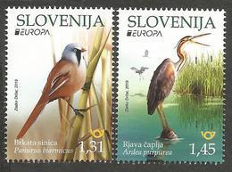 SI 2019-1375-6 EUROPA CEPT, SLOVENIA, 1 X 2v, MNH - 2019