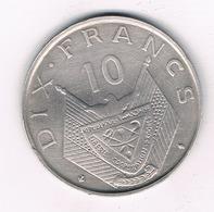 10 FRANCS 1964 RWANDA /4881/ - Rwanda